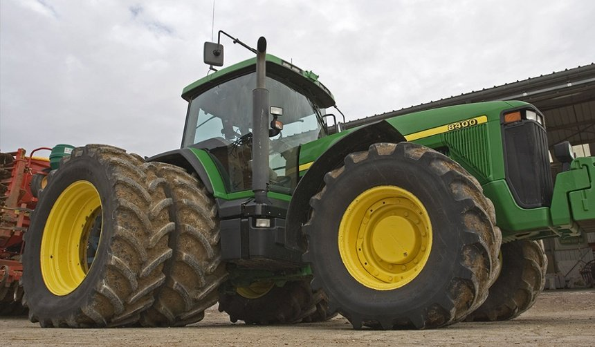 dual tractor tyres
