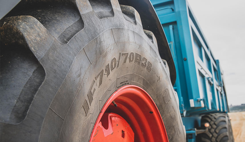 Standard tyres with IF VF technology