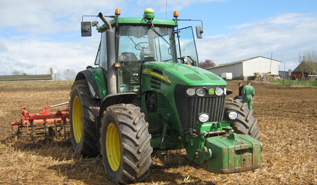 tractor front tyre weight