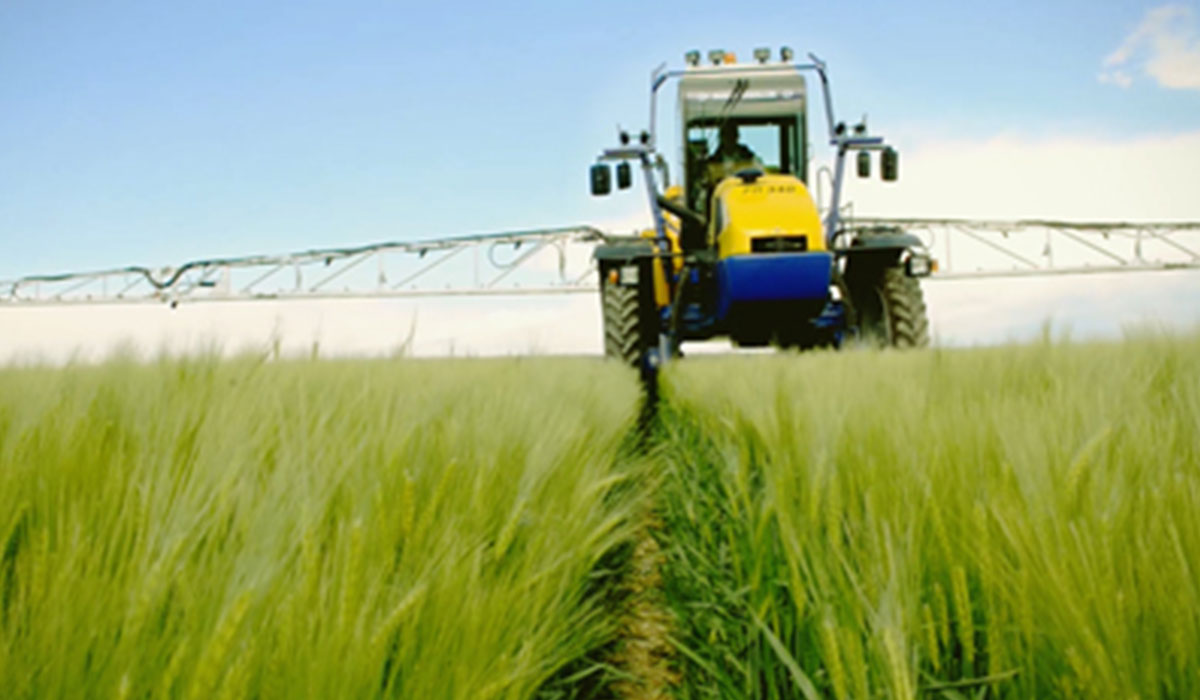 Increase the yield of your sprayer with narrow VF tyres
