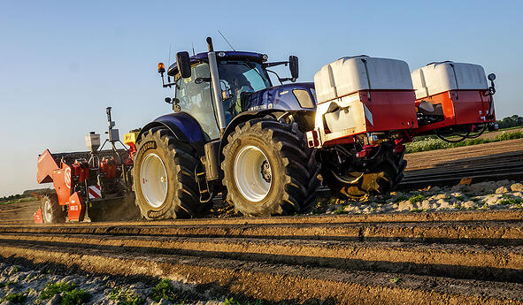 Soil compaction with your tractor tyres