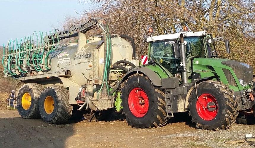 Onboard CTIS tractor + trailer