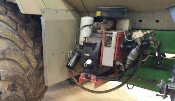 Onboard CTIS: compressor
