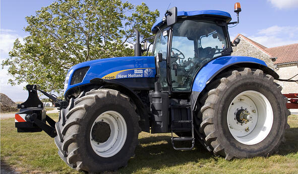 Increase the volume of your tyres to boost your tractor