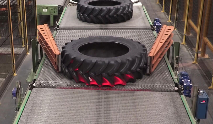 Full explanations on the manufacture of agricultural tyres