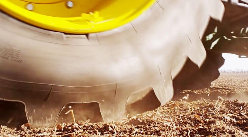 Bridgestone's VT-TRACTOR tyre