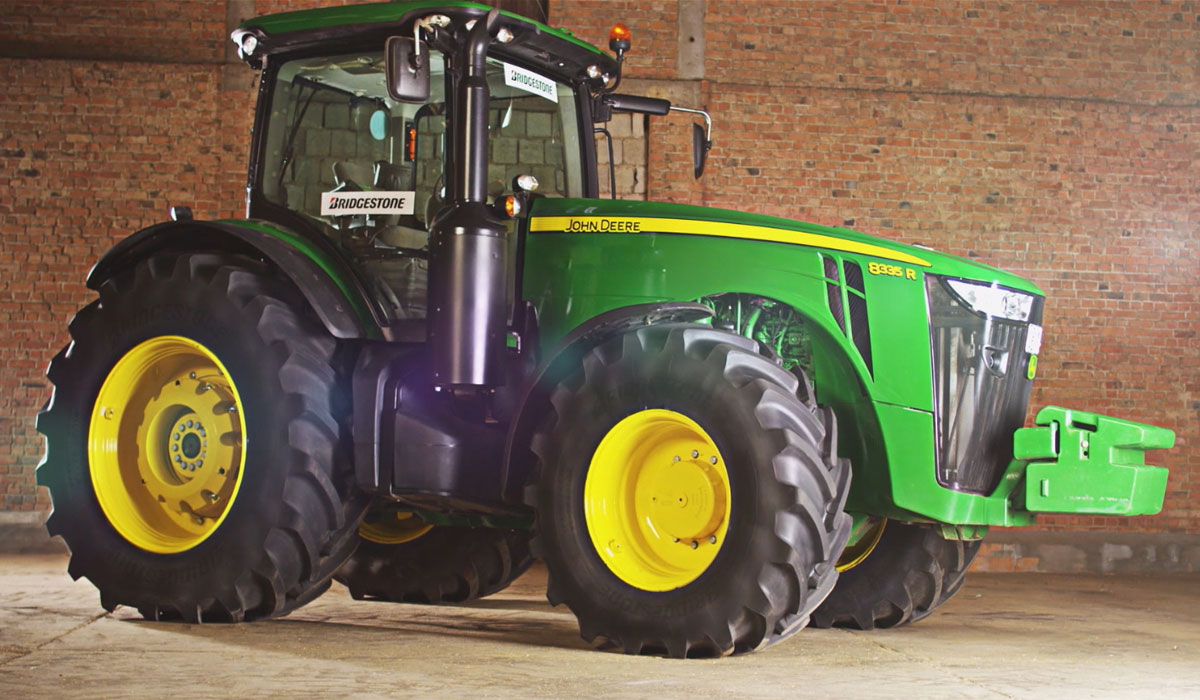 What materials guarantee the quality of your tractor tyres
