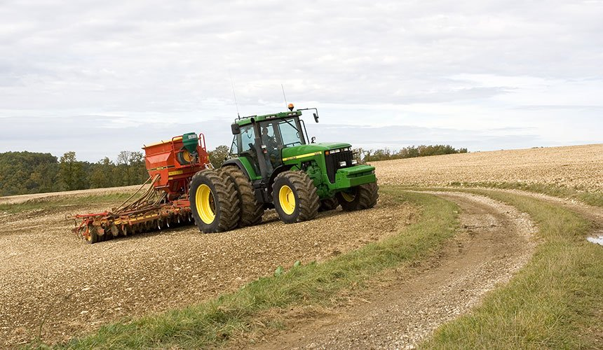 Duals for working on sloping land