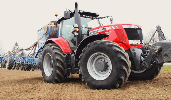 How to maximise traction with my tractor tyres