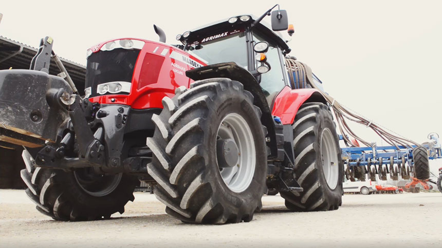 VT-TRACTOR tyre: technology VF