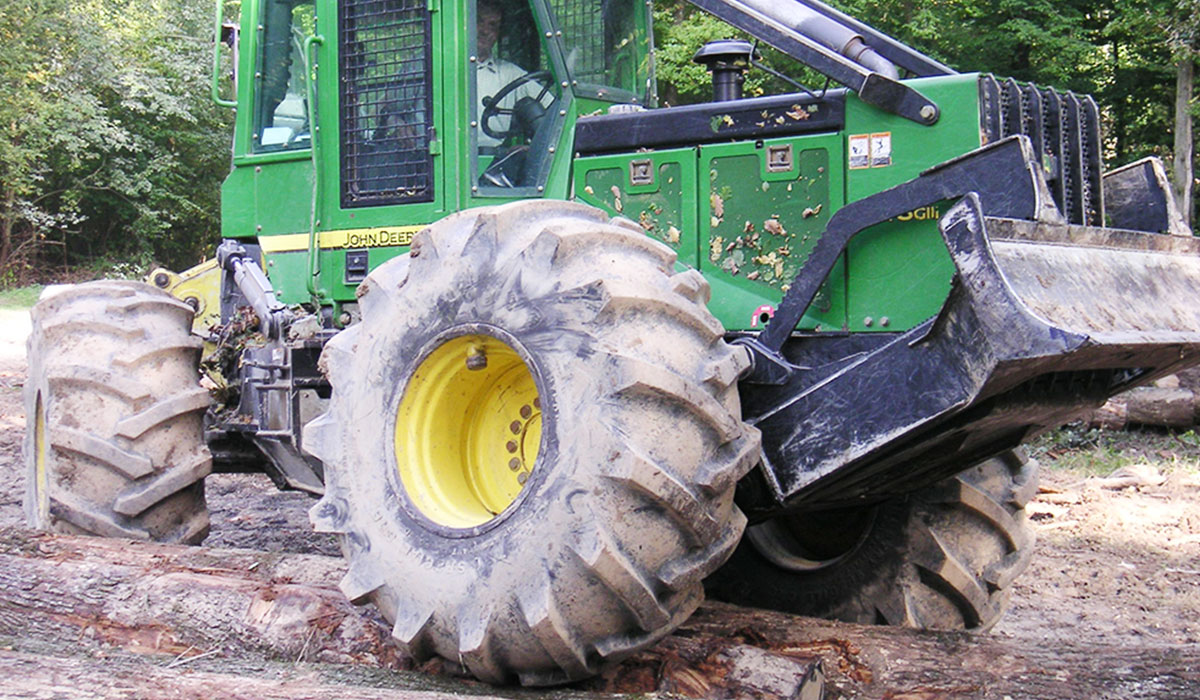 forestry tyres more resistance and driveability