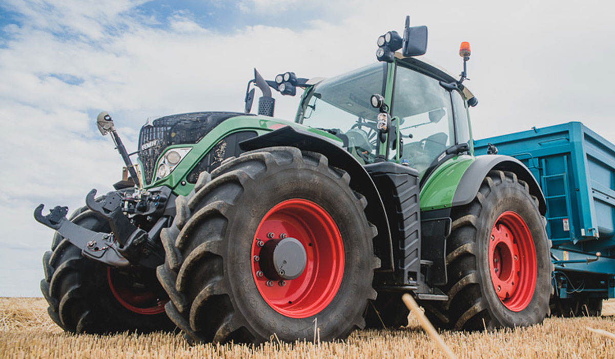 preponderance of agricultural tractor tyres