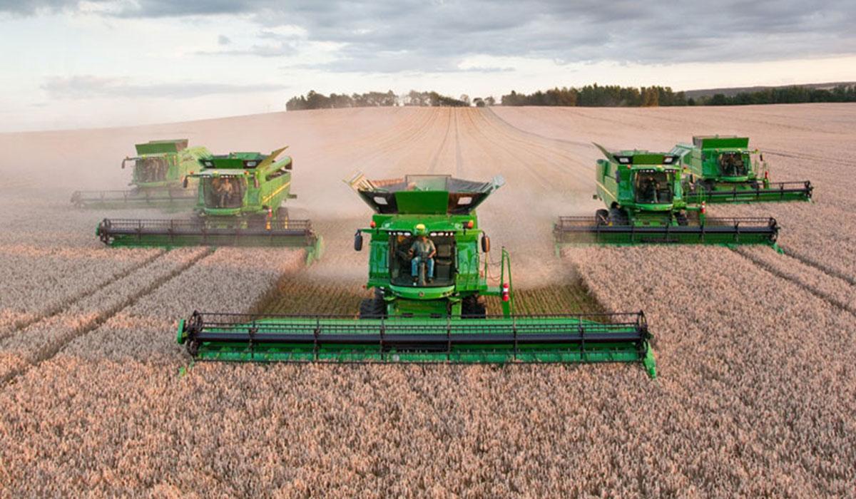 Hi-tech agricultural tyre for harvest