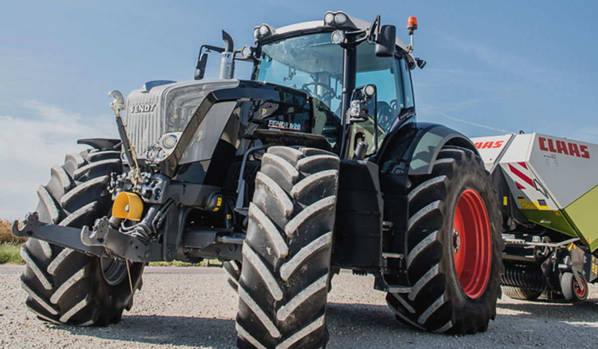 Choosing the right tractor tyres