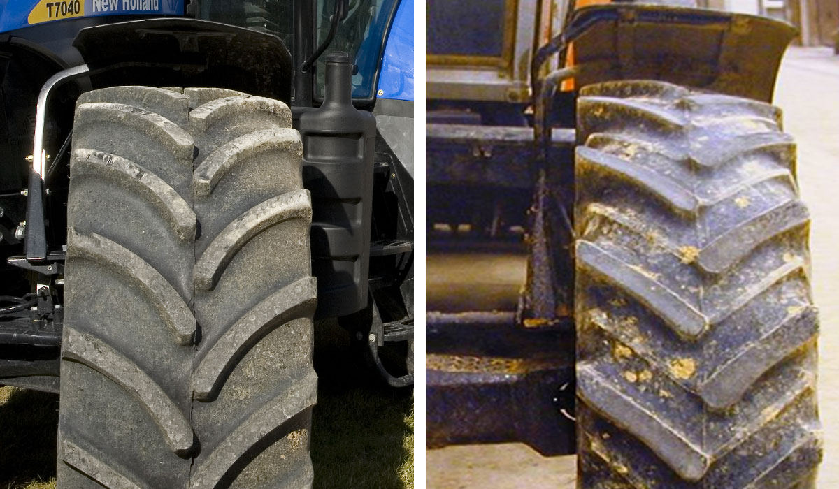 4000 euros in savings per year with better agricultural tyre