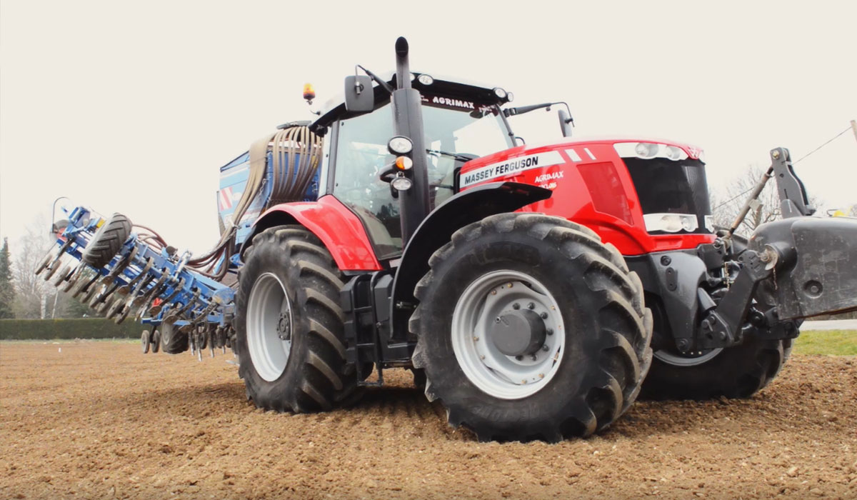 Tractor pressure with heavy implement