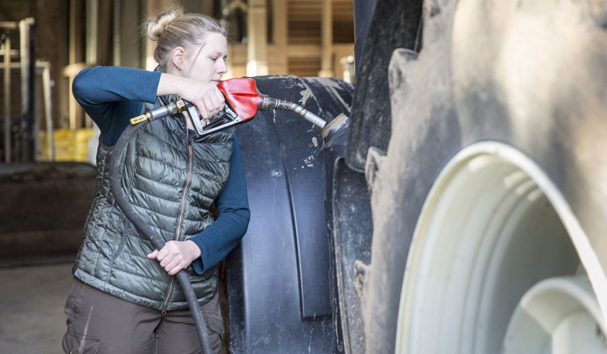 Tractor tyres and fuel consumption