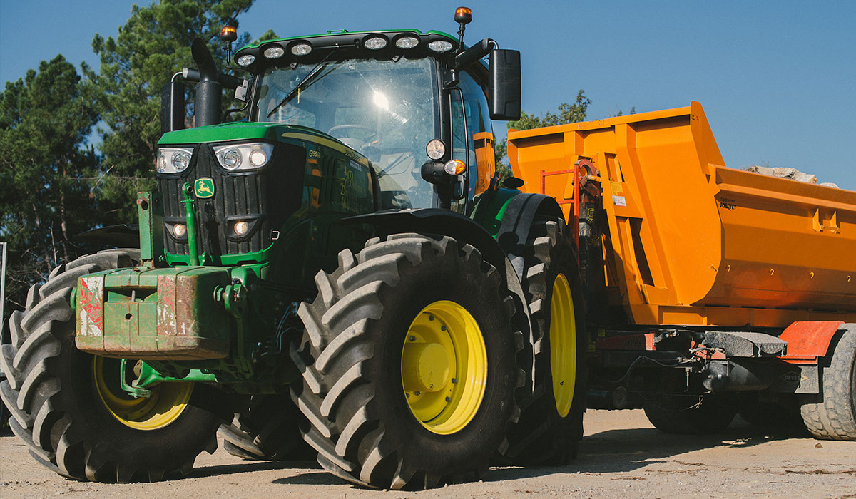 VX-Tractor tyres more resistant to wear